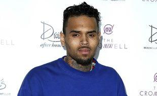 Le rappeur Chris Brown