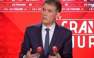 Olivier Faure au Grand Jury RTL, le 27 mai 2018.
