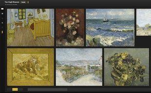 La collection du musée Van Gogh d'Amsterdam (Pays-Bas), mise en ligne sur le Google Art Project en haute résolution.