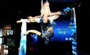 Les Farfadais, lors de la soirée de présentation des sportifs et événements de l'été 2012 parrainés par la Francaise des Jeux.