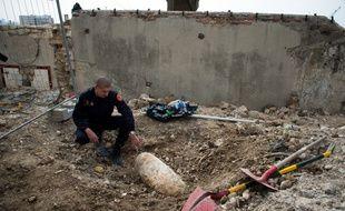 (Illustration) Une bombe de la Seconde Guerre mondiale désamorcée.