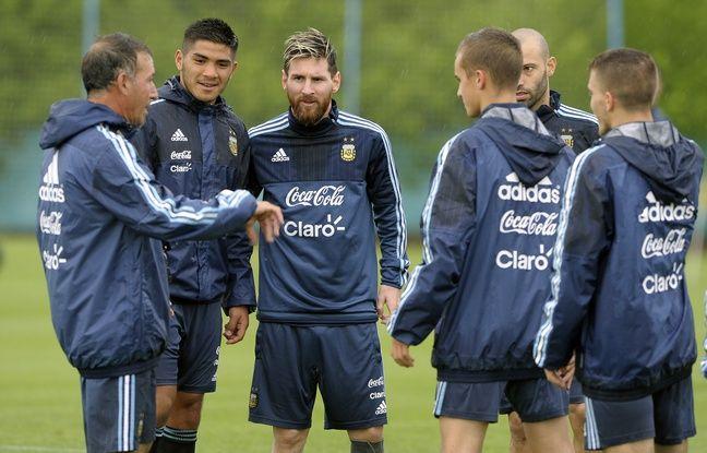 Messi et ses coéquipiers argentins