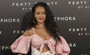 La chanteuse et actrice Rihanna