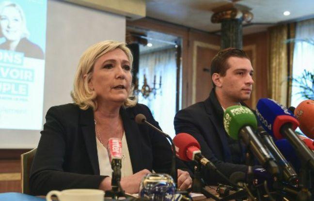 Elections européennes: Marine Le Pen fustige Emmanuel Macron et défend son bilan «fantastique»