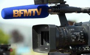 Illustration micro et camera de la chaine d information BFMTV