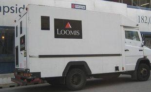 Un fourgon Loomis, aux Etats-Unis.