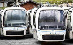 Les anciennes cabines de l'Olympe se sont vendues extrêmement vite mardi.