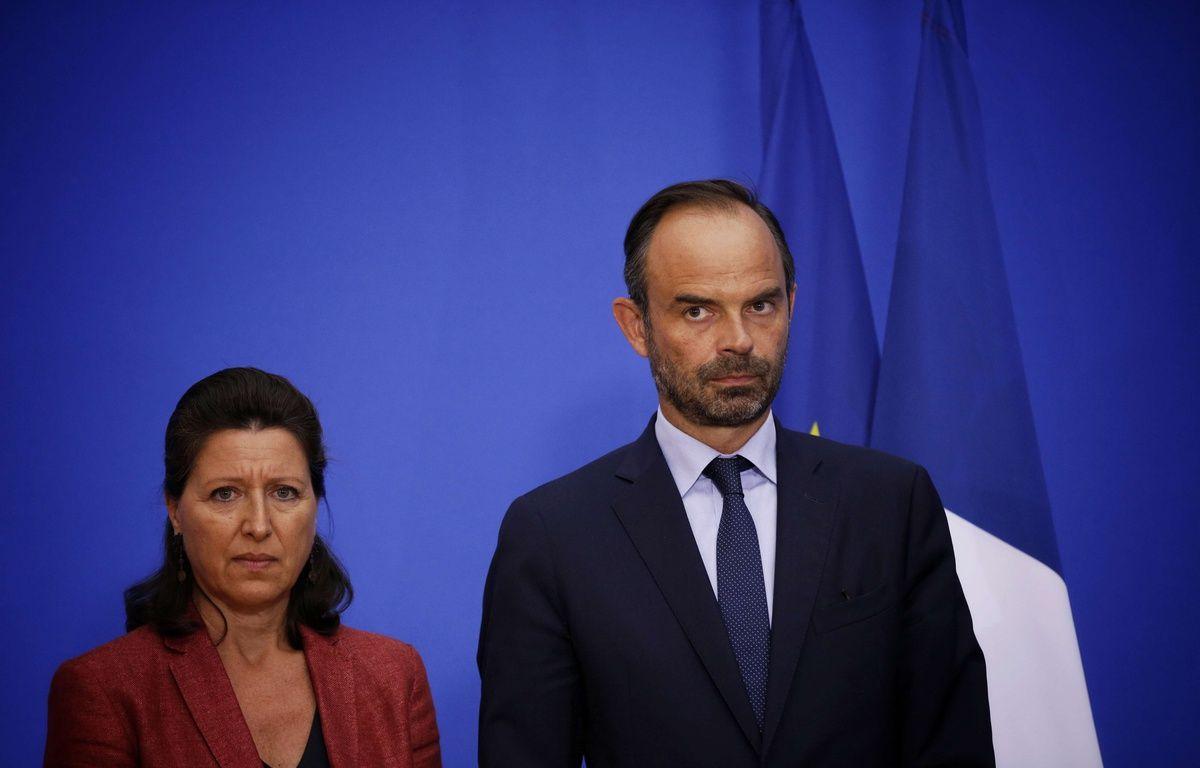Agnès Buzyn, ministre de la Sante, et Edouard Philippe, Premier ministre, place Beauvau le 6 septembre 2017. – SIPA