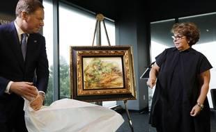 Sylvie Sulitzer a récupéré un Renoir qui appartenait à son grand-père, spolié par les Nazis.