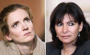 """Anne Hidalgo, candidate PS à la mairie de Paris, a décidé d'engager des """"poursuites judiciaires"""" contre sa rivale UMP Nathalie Kosciusko-Morizet qui a affirmé dans le Journal du Dimanche qu'elle aurait été condamnée en 2012, a annoncé lundi à l'AFP son avocat."""