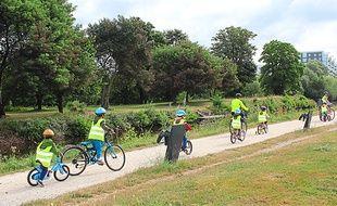 La mobilité à vélo, sans les roulettes, est une habitude à prendre!