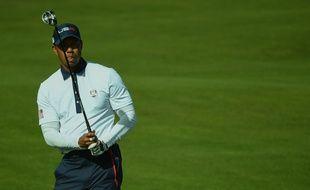 Tiger Woods lors de la Ryder Cup 2018