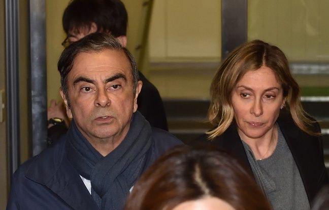 Affaire Carlos Ghosn: Sa femme Carole Ghosn est de retour au Japon pour être entendue