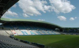 Le stade de la Beaujoire à Nantes.