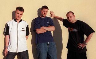 Le groupe Manau en 1998.