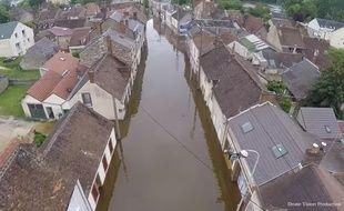 Montargis, la Venise du Loiret, plus que jamais sous les eaux