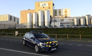 L'usine Lactalis de Craon en Mayenne, d'où est sorti le lait contaminé aux salmonelles.