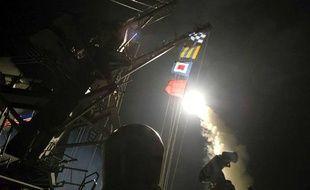 Syrie: Frappe américaine en riposte à l'attaque chimique
