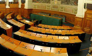 L'assemblée départementale dans le Rhône.