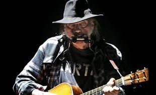Le musicien Neil Young