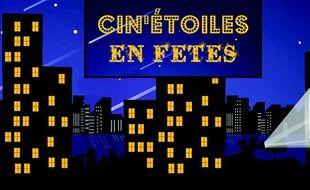 L'affiche de l'opération Cin'étoiles.