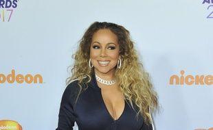 La chanteuse Mariah Carey aux Kids Choice 2017.