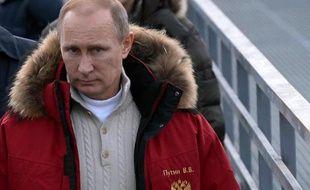 Vladimir Poutine le 3 janvier 2014 à Sotchi
