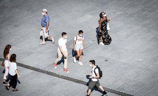 Dans les rues de Bordeaux le 11 septembre 2020.