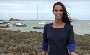 Eugénie Journée, 22 ans, a été élue Miss Bretagne le 3 octobre 2015, avant d'être destituée.