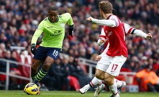 N'Zogbia sous le maillot d'Aston Villa en 2013.