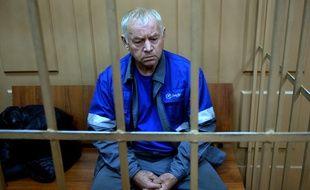 Vladimir Martynenko, le conducteur de la déneigeuse que l'avion de Christophe de Margerie a heurtée le 20 octobre 2014, à Moscou.
