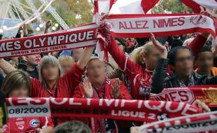 Des supporters de Nîmes (illustration).