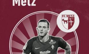 Le mauvais logo du FC Metz utilisé par le quotidien L'Equipe.