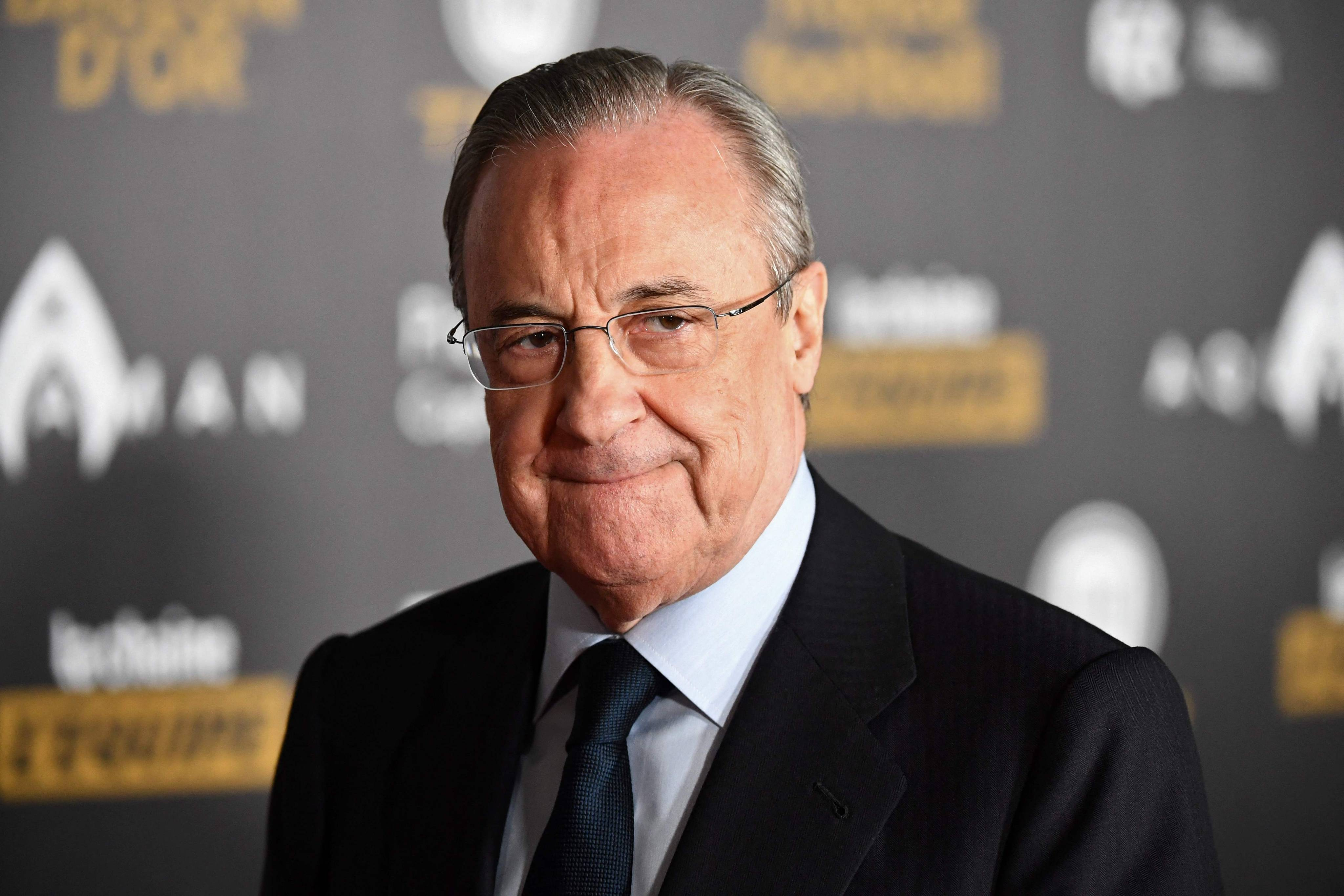 Le président du Real Madrid, Florentino Perez en 2018 (illustration).