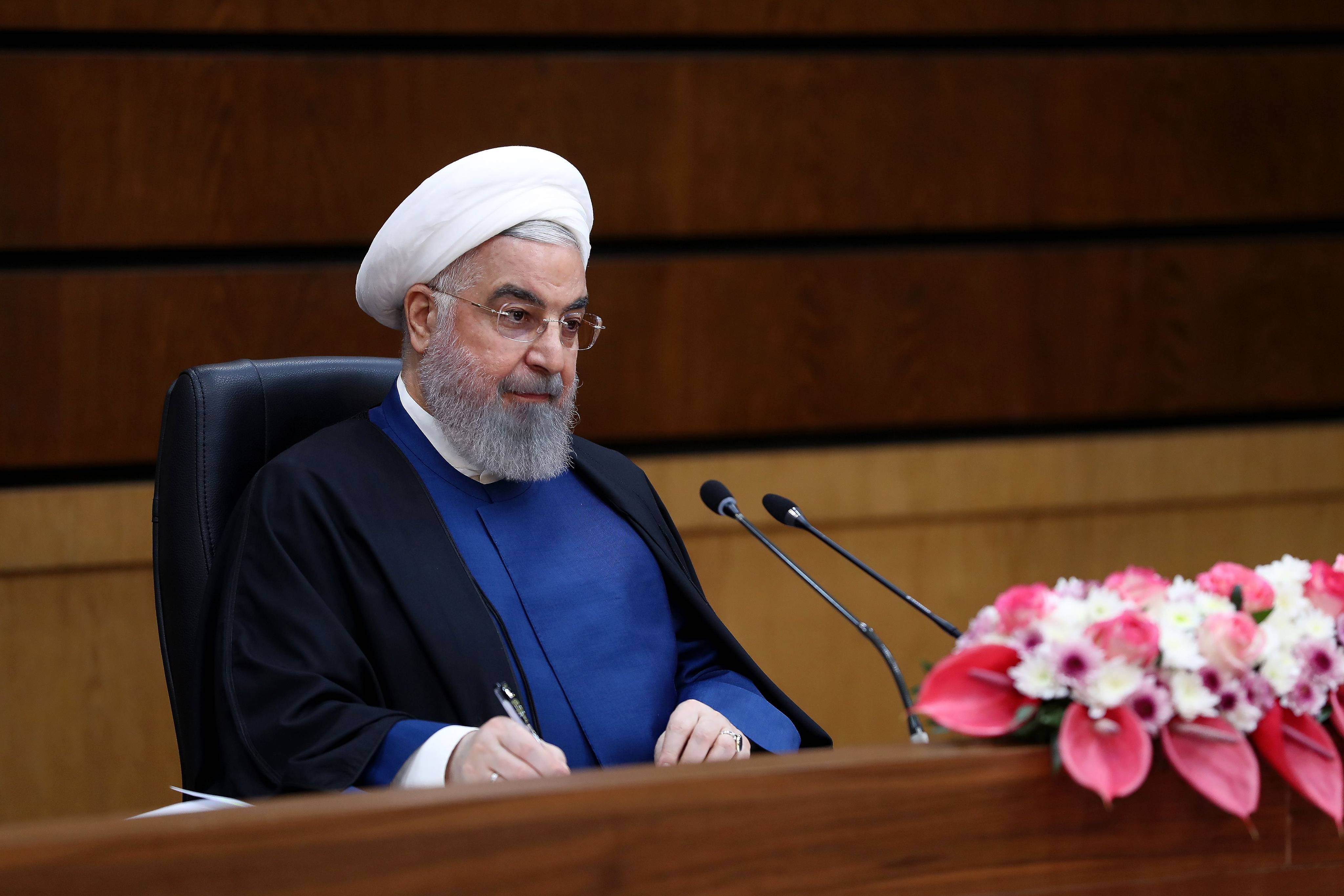 648x415 le president iranien hassan rouhani le 10 avril 2021 a teheran