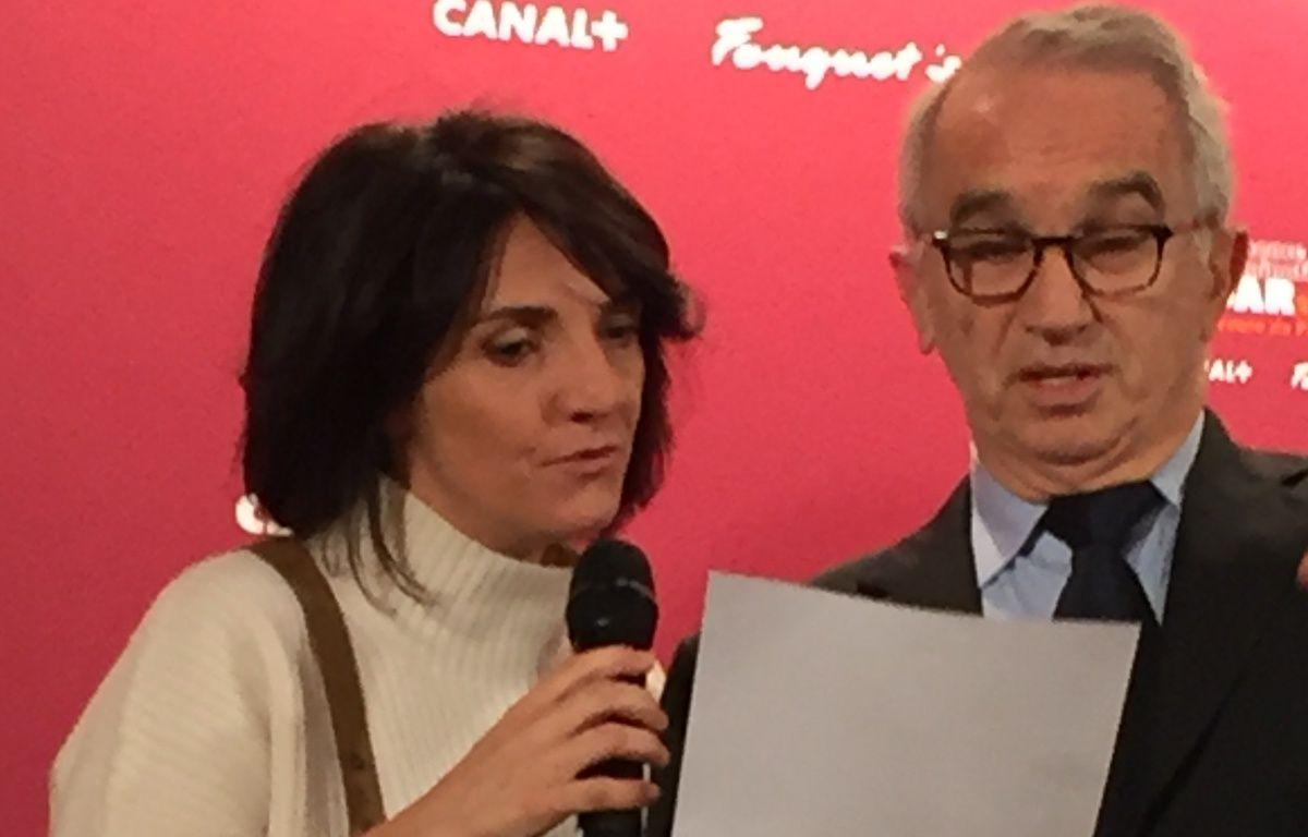 Florence Foresti et Alain Terzian annoncent les nominations au César – Caroline Vié