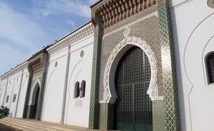 La Grande mosquée de Dakar.