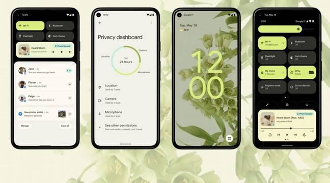 Google I/O 2021: Design coloré d'Android 12, partenariat avec Samsung et téléprésence du futur