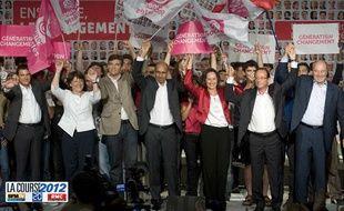 Photo des candidats à la primaire socialiste à la Rochelle.