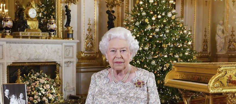 Elizabeth II, le 24 décembre 2018.