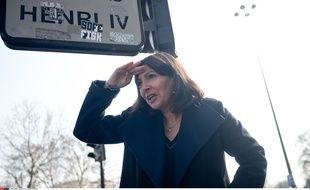 La maire de Paris, Anne Hidalgo, le 23 mars 2015
