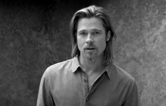 Brad Pitt dans la publicité de Chanel pour N°5.