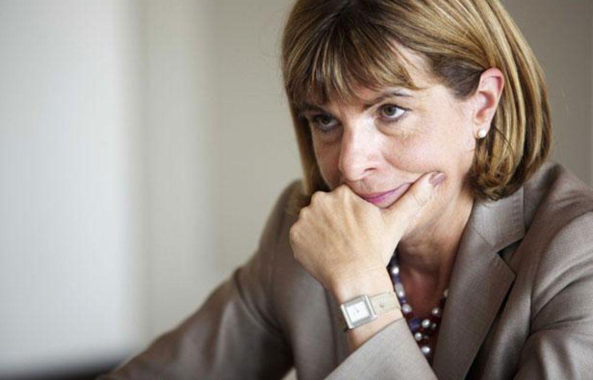 L'ancienne présidente du directoire d'Areva, Anne Lauvergeon, lors d'une interview à Paris en mai 2011. – GILLES BASSIGNAC/JDD/SIPA