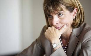 L'ancienne présidente du directoire d'Areva, Anne Lauvergeon, lors d'une interview à Paris en mai 2011.