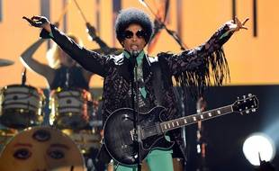 Prince sur scène lors des Billboard Music Awards à Las Vegas, le 19 mai 2013.