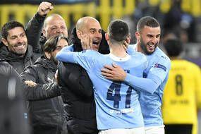 Pep Guardiola libéré, délivré