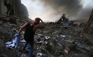 Il y a un an, une explosion dans le port de Beyrouth dévastait la ville.