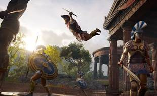 Image promotionnelle d'«Assassin's Creed Odyssey» d'Ubisoft.