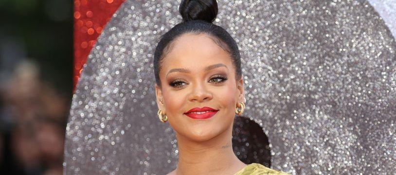 La chanteuse et actrice Rihanna à l'avant-première de Ocean's 8