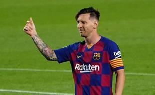 Le contrat de Lionel Messi au Barça arrive à expiration en 2021.
